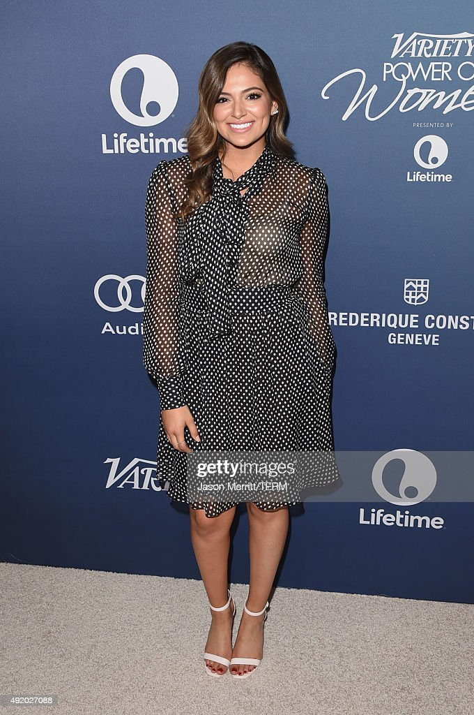 Internet personality Bethany Mota attends Variety's Power Of Women Luncheon at the Beverly Wilshire Four Seasons Hotel on October 9, 2015 in Beverly Hills, California.
