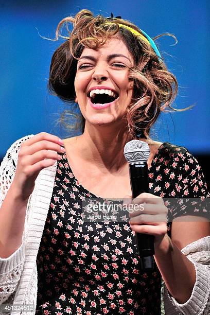 Internet personality Bethany Mota attends VidCon Day 2 at Anaheim Convention Center on June 27 2014 in Anaheim California