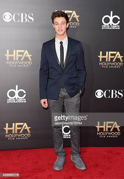 Internet personality Cameron Dallas attends the 18th Annual Hollywood Film Awards at The Palladium on November 14 2014 in Hollywood California