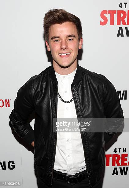 Internet personality Connor Franta attends the 4th Annual Streamy Awards presented by CocaCola on September 7 2014 in Beverly Hills California