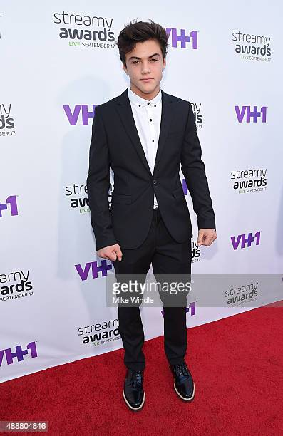 Internet personality Ethan Dolan attends VH1's 5th Annual Streamy Awards at the Hollywood Palladium on Thursday September 17 2015 in Los Angeles...