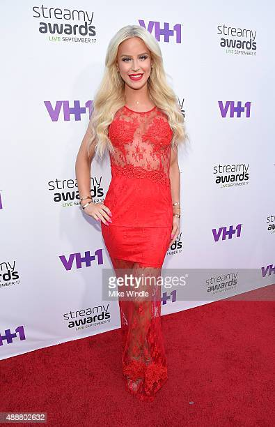 Internet personality Gigi Gorgeous attends VH1's 5th Annual Streamy Awards at the Hollywood Palladium on Thursday September 17 2015 in Los Angeles...