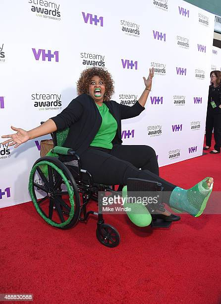 Internet personality GloZell attends VH1's 5th Annual Streamy Awards at the Hollywood Palladium on Thursday September 17 2015 in Los Angeles...