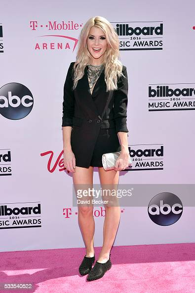 Internet personality Grace Helbig attends the 2016 Billboard Music Awards at TMobile Arena on May 22 2016 in Las Vegas Nevada