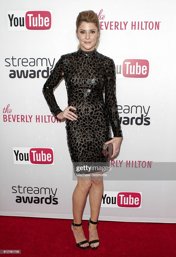Internet personality Grace Helbig attends the 2016 Streamy Awards at The Beverly Hilton Hotel on October 4, 2016 in Beverly Hills, California.