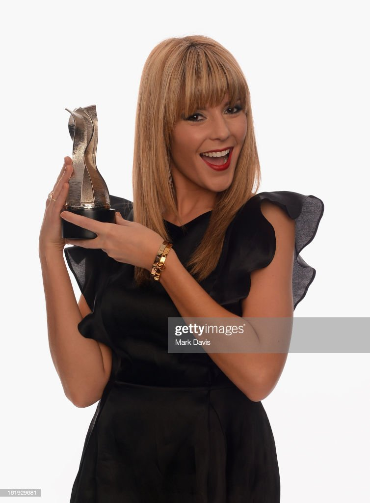 Internet personality Grace Helbig poses for a portrait in the TV Guide Portrait Studio at the 3rd Annual Streamy Awards at Hollywood Palladium on February 17, 2013 in Hollywood, California.