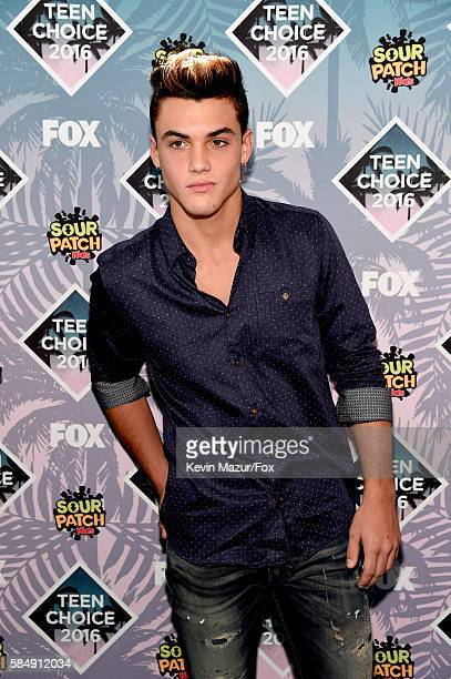 Internet personality Grayson Dolan attends Teen Choice Awards 2016 at The Forum on July 31 2016 in Inglewood California