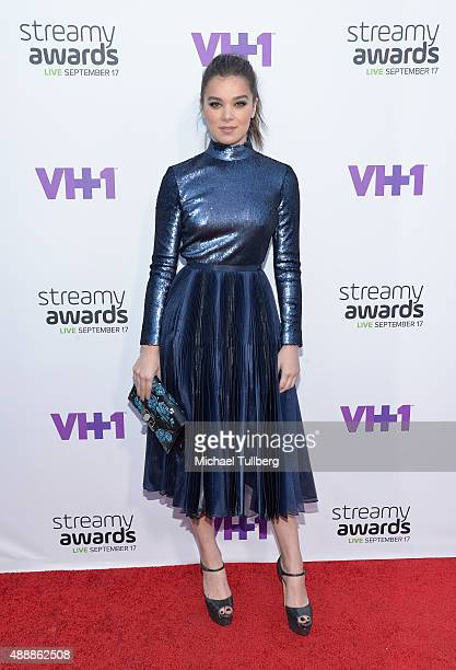 Internet personality Hailee Steinfeld attends the 5th Annual Streamy Awards at Hollywood Palladium on September 17 2015 in Los Angeles California
