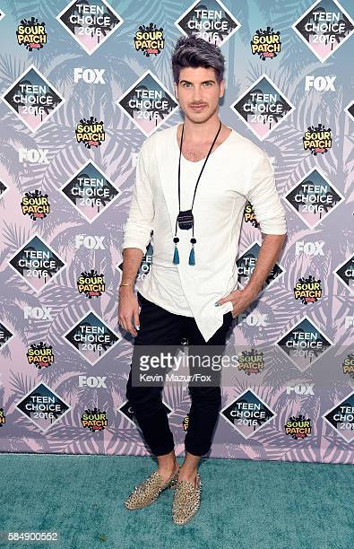 Internet personality Joey Graceffa attends Teen Choice Awards 2016 at The Forum on July 31 2016 in Inglewood California
