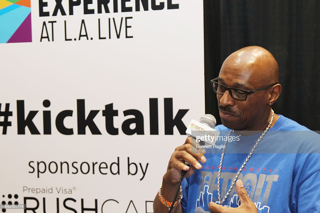 Internet personality JumpmanBostic attends SneakerCon presented by Sprite, Rush Card, & FDA during the 2016 BET Experience at Los Angeles Convention Center on June 25, 2016 in Los Angeles, California.