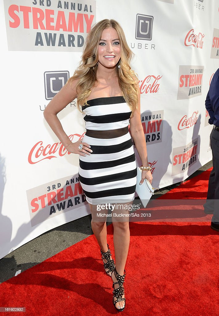 Internet personality Justine Ezarik attends the 3rd Annual Streamy Awards at Hollywood Palladium on February 17, 2013 in Hollywood, California.