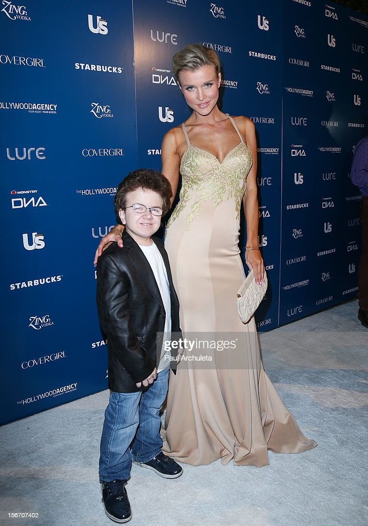 Internet Personality Keenan Cahill and Reality TV Personality Joanna Krupa attend US Weekly Magazine's AMA after party at Lure on November 18 2012 in...