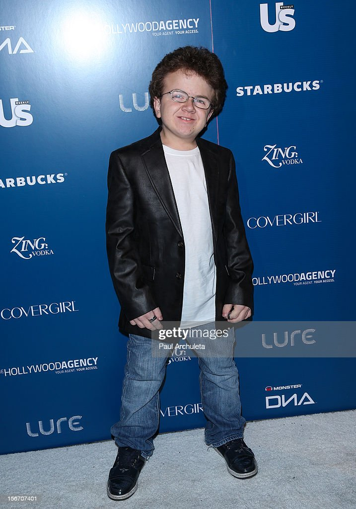 Internet Personality Keenan Cahill attends US Weekly Magazine's AMA after party at Lure on November 18 2012 in Hollywood California