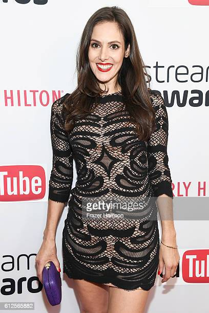Internet personality Kelly Landry attends the 6th annual Streamy Awards hosted by King Bach and live streamed on YouTube at The Beverly Hilton Hotel...