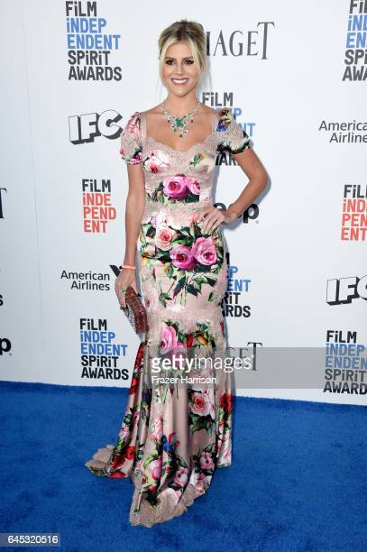 Internet personality Lala Rudge attends the 2017 Film Independent Spirit Awards at the Santa Monica Pier on February 25 2017 in Santa Monica...