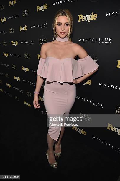 Internet personality Lele Pons attends People's 'Ones to Watch' event presented by Maybelline New York at EP LP on October 13 2016 in Hollywood...