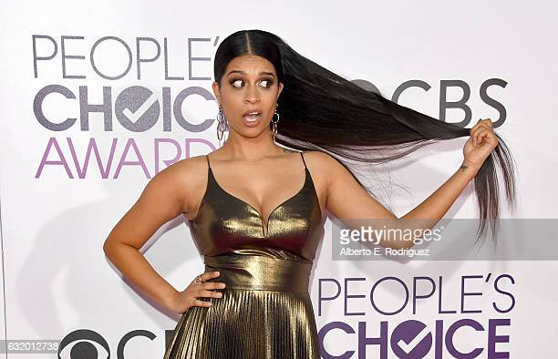 Internet personality Lilly Singh attends the People's Choice Awards 2017 at Microsoft Theater on January 18 2017 in Los Angeles California