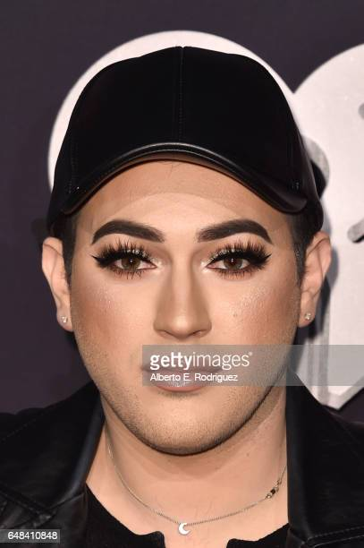 Internet personality Manny Mua attends the 2017 iHeartRadio Music Awards which broadcast live on Turner's TBS TNT and truTV at The Forum on March 5...