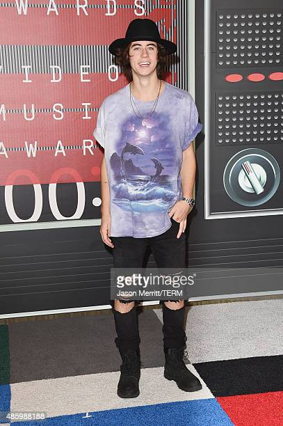 Internet personality Nash Grier attends the 2015 MTV Video Music Awards at Microsoft Theater on August 30 2015 in Los Angeles California
