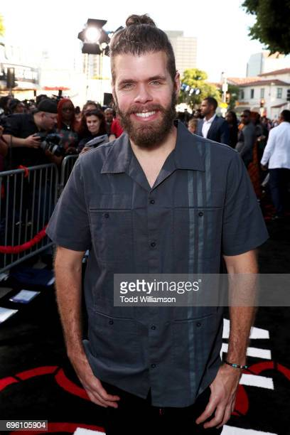 Internet personality Perez Hilton at the 'ALL EYEZ ON ME' Premiere at Westwood Village Theatre on June 14 2017 in Westwood California