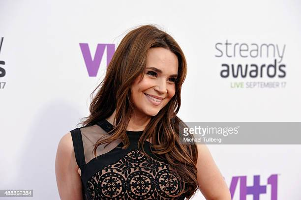 Internet personality Rosanna Pansino attends the 5th Annual Streamy Awards at Hollywood Palladium on September 17 2015 in Los Angeles California