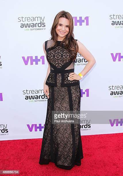 Internet Personality Rosanna Pansino attends the 5th Annual Streamy Awards at The Hollywood Palladium on September 17 2015 in Los Angeles California