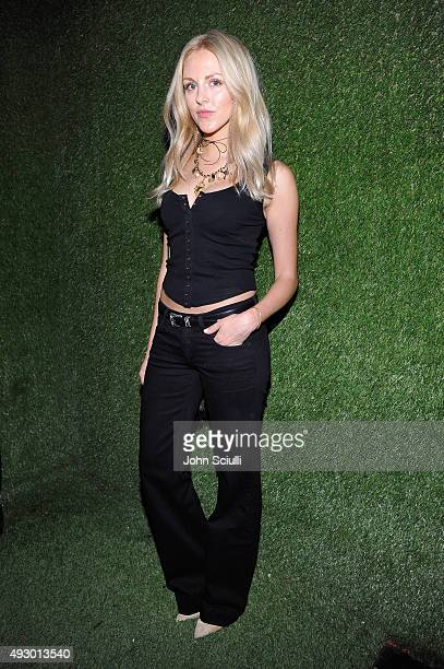 Internet personality Shea Marie attends the Calvin Klein Jeans hosted music event in Los Angeles to celebrate the fall 2015 ad campaign at The Lyric...