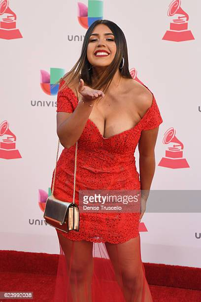 Internet personality Ydelays attends The 17th Annual Latin Grammy Awards at TMobile Arena on November 17 2016 in Las Vegas Nevada