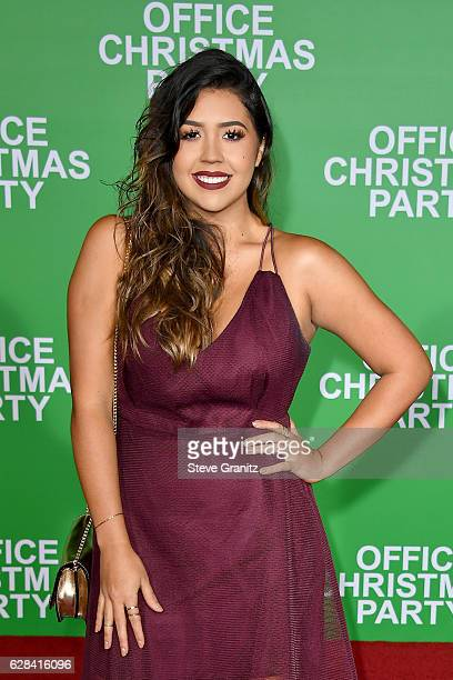 Internet personality Ydelays attends the premiere of Paramount Pictures' 'Office Christmas Party' at Regency Village Theatre on December 7 2016 in...