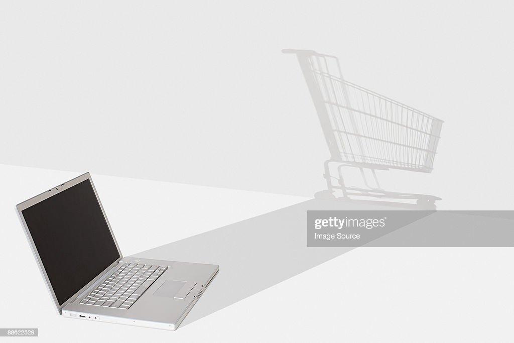 Internet shopping : Stock Photo