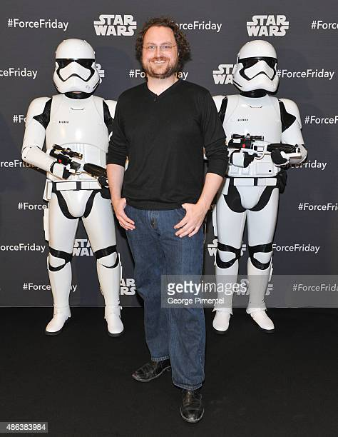Internet star Martin Glaude attends the Unboxing of new product line in promotion of Lucasfilm's 'Star Wars Episode VII The Force Awakens' at the...