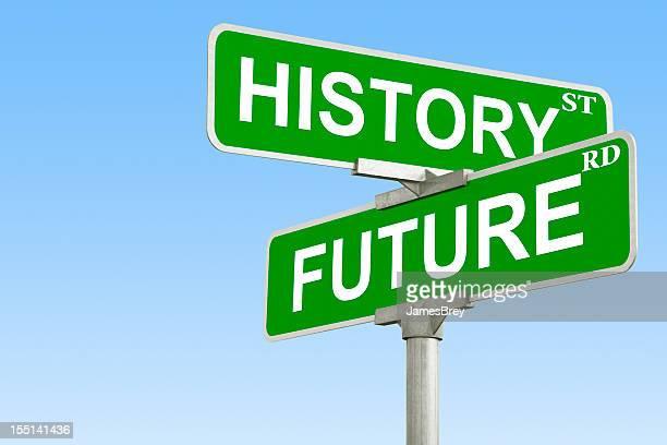 Intersection de l'histoire et de l'avenir
