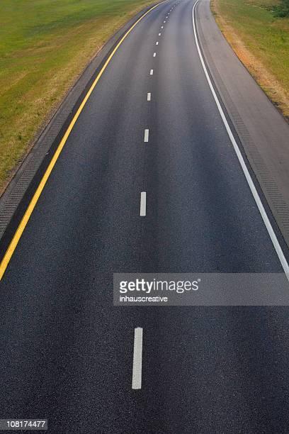 Interstate von einer Brücke