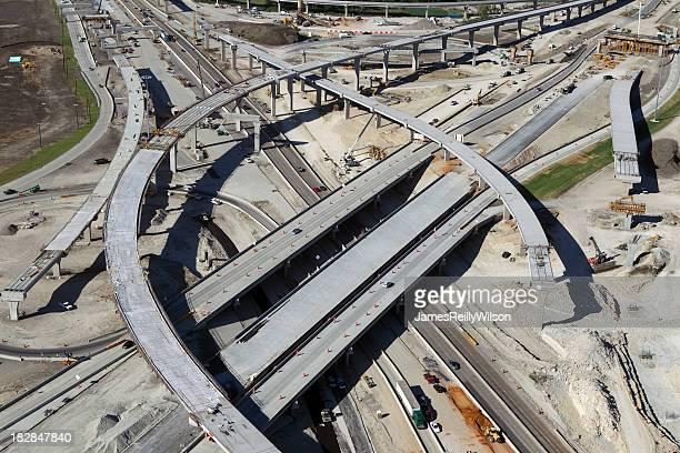 Autostrada interstato e costruzione di ponti