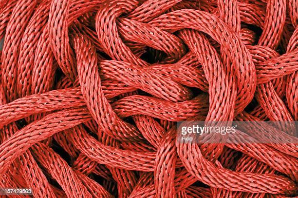Ineinander verschlungen Seil