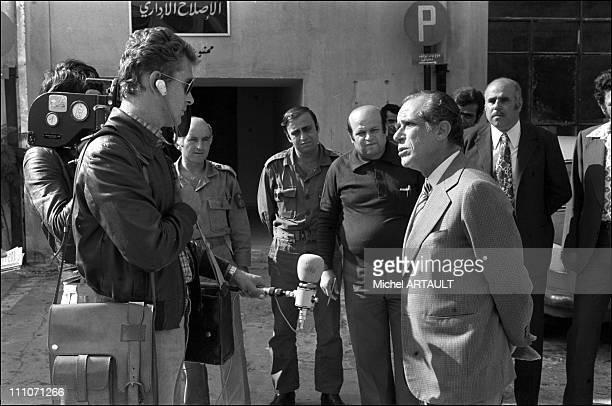 Interview Of Raymond Edde By DBaudis In Beirut Lebanon On November 03 1975