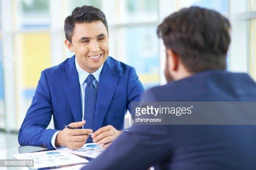 Interview : Stock Photo