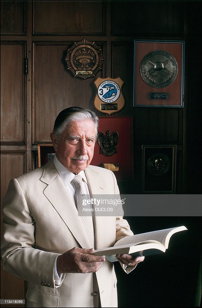 Interview With <a gi-track='captionPersonalityLinkClicked' href=/galleries/search?phrase=Augusto+Pinochet&family=editorial&specificpeople=93107 ng-click='$event.stopPropagation()'>Augusto Pinochet</a> On February 14th, 1988 In Chile