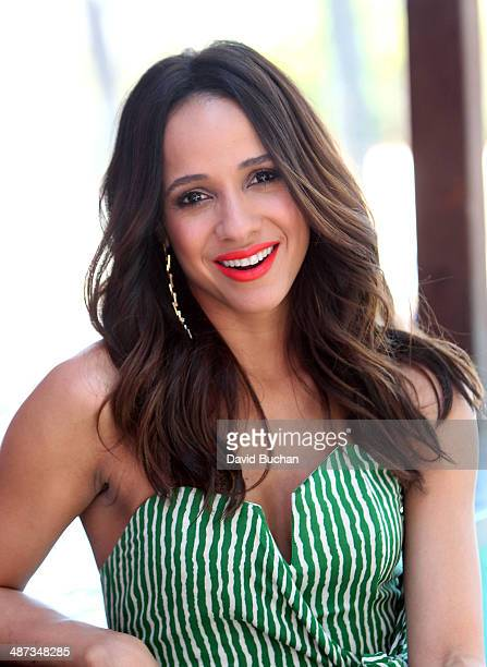 Interview with Dania Ramirez at Westfield Century City on April 29 2014 in Los Angeles California