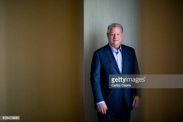 TORONTO ON JULY 21 Interview with former US vicepresident Al Gore and Jeff Skoll on making the film An Inconvenient Truth
