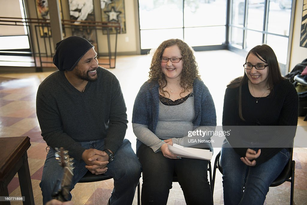 UNITE -- 'Interview with Troy Palamalu' -- Pictured: (l-r) Pittsburgh Steelers Safety Troy Palamalu, Roya, Jeanna --