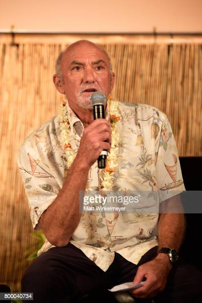 Interviewer Rick Chatenever speaks at the 'Celestial Cinema' during day two of the 2017 Maui Film Festival at Wailea on June 22 2017 in Wailea Hawaii