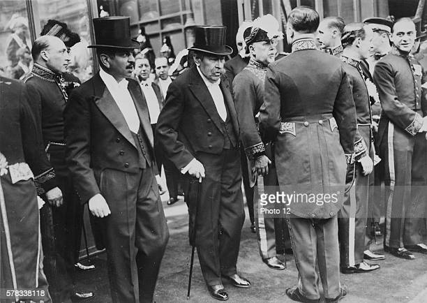 Interwar period The Foreign Minister Aristide Briand and Council President Pierre Laval at the Elysee Paris 1931