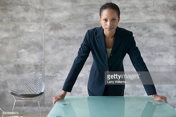 Intimidating Businesswoman
