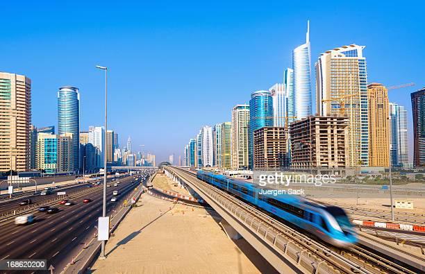 Into Megacity Dubai