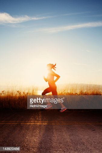 Into the Sunset : Stock Photo