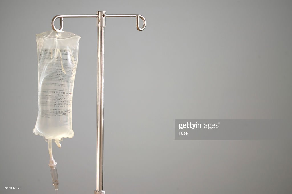 Intravenous Bag on Stand