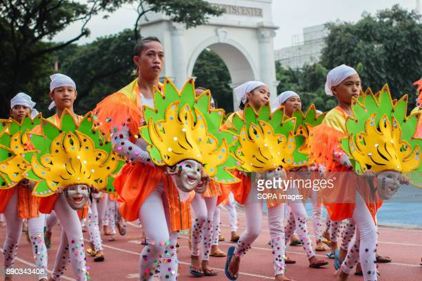 PHILIPPINES MARIKINA NCR PHILIPPINES Intricate designs of talented Filipinos was shown by their own made mask costumesThe Biggest Annual Philippine...