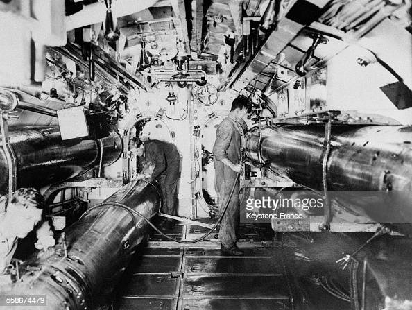 Int rieur d 39 un sous marin britannique pictures getty images for Interieur sous marin