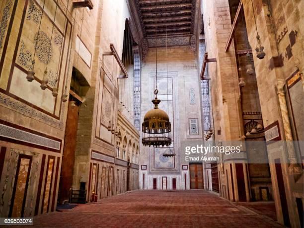 Intrior of Al Rifai Mosque in Cairo, Egypt